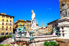 Fountain of Neptune, Florence, Italy Royalty Free Stock Image