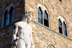 Fountain of Neptune, Florence Stock Photo