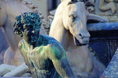 Fountain of Neptune, Florence Stock Photos