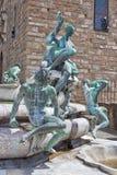 Fountain Neptune, fragment Stock Photo