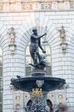 Fountain of the Neptune in Gdańsk Stock Image