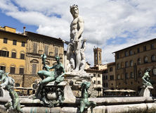 Fountain of Neptune Royalty Free Stock Images