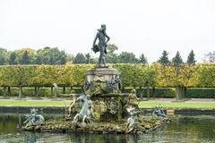 Fountain of Neptune. In Peterhof near St. Peatersburg, Russia Royalty Free Stock Photo