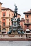 Fountain Neptune on Piazza del nettuno in Bologna. Travel to Italy - Fountain Neptune on Piazza del nettuno in Bologna city stock photos
