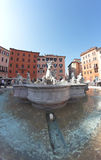 Fountain of Neptune, Rome Royalty Free Stock Photography