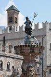 Fountain of Neptune, Trento Stock Photos