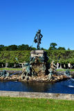Fountain Neptune in the Upper Park of Peterhof Royalty Free Stock Images