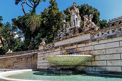 The Fountain of Neptune Royalty Free Stock Image