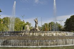Fountain of Neptuno Royalty Free Stock Images