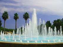 Fountain in Nice, France. Royalty Free Stock Image