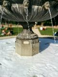 Fountain. A nice slowmotion shot of a France Fountain in france stock images