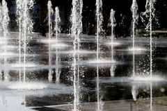 Fountain in Nice. Fountain square in the cente of Nice royalty free stock photo