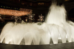 Fountain in night Stock Photography