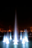 Fountain at night Royalty Free Stock Images