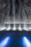 Fountain in the night Royalty Free Stock Image