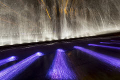 Fountain in the night Royalty Free Stock Images