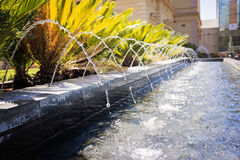 Fountain on North Terrace, Adelaide Royalty Free Stock Photos
