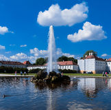Fountain of Nymphenburg Palace Stock Images