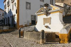 Fountain. Obidos. Portugal Royalty Free Stock Photography
