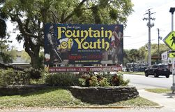 Free Fountain Of Youth Archaeological Park, Saint Augustine, Florida Royalty Free Stock Image - 142351486