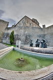 Fountain in Offida Royalty Free Stock Photo