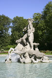 Fountain, old botanical Garden, Munich Royalty Free Stock Photo