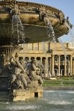 Fountain and Old Bourse, Stuttgart Stock Photography