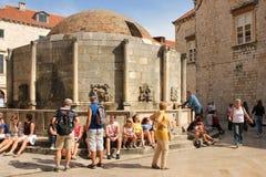 Fountain of Onofrio. Dubrovnik. Croatia Stock Photo