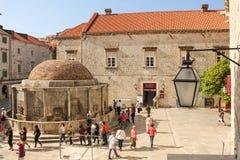 Fountain of Onofrio. Dubrovnik. Croatia Royalty Free Stock Photo
