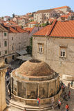 Fountain of Onofrio. Dubrovnik. Croatia Royalty Free Stock Photos