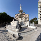 The fountain of Orione in Messina Stock Photos
