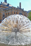 Fountain in Oslo royalty free stock images