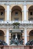 Fountain of Our Lady of Loreto Stock Photos