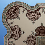 Fountain overhang. Overhanging corner of an Ottoman fountain in Istanbul, Turkey stock photo