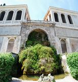 Fountain on the Palatino hill in Rome city Royalty Free Stock Photos