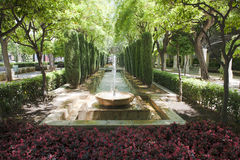 Fountain in Palma de Majorca (Mallorca) Royalty Free Stock Image