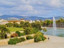 Fountain in Palma of Majorca Royalty Free Stock Photo