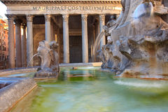 Fountain Pantheon Royalty Free Stock Images