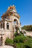Fountain at Parc de la Ciutadella, Barcelona. Royalty Free Stock Photography