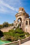 Fountain at Parc de la Ciutadella, Barcelona. Stock Photography