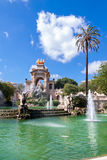 Fountain of Parc de la Ciutadella Stock Photography