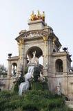 Fountain in Parc De la Ciutadella Stock Photos