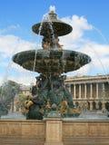 Fountain in Paris Stock Images