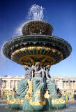 Fountain In Paris Royalty Free Stock Photography