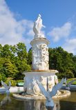 Fountain in a park Royalty Free Stock Image