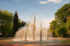 Fountain at park Bad Homburg Royalty Free Stock Image