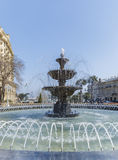 Fountain in the park in Baku Royalty Free Stock Images