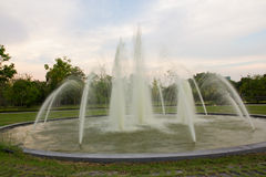 Fountain In The Park Royalty Free Stock Photo