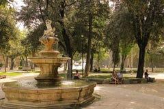 Fountain. Park Josipa J. Strossmayera. Split. Croatia Royalty Free Stock Images