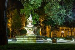 Fountain. Park Josipa J. Strossmayera. Split. Croatia Royalty Free Stock Photo